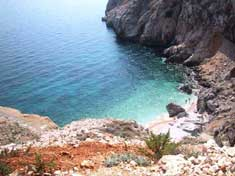 Romantic Croatia - best beaches - island Cres, Orlec beach (Mali bok)