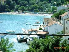 Island Cres Croatia - Valun beach