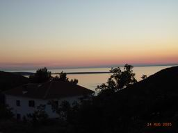Romantic Croatia - sunset at apartments Stivan, island Cres