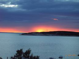 Romantic Croatia - sunset island Cres Martinscica
